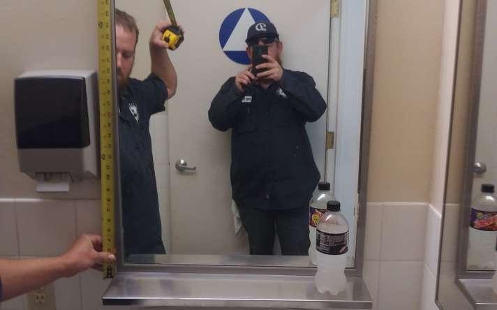 ADA Mirror Install